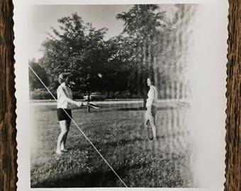 Original Vintage Photograph The Ripple Effect