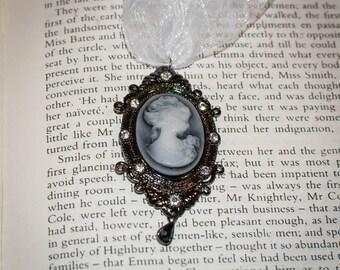 Jane Austen/ Georgian Regency Style Cameo Necklace