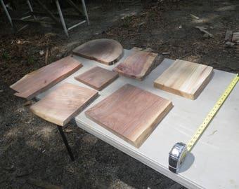 Unfinished Black Walnut, Cedar, Poplar Wood Slabs, Save Money With Elbow  Grease,