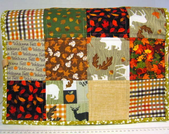 Autumn Quilted Sewing Machine Dust Cover, JDCreativeHands