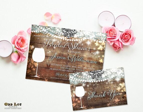 Wine bridal shower invite vineyard wedding winery wedding theme wine il570xn filmwisefo