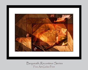 Living Room Wall Decor - Autumn Leaves - Wall Decor - Story Collage Photography