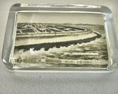 Vintage Paper Weight Sea Wall Galveston Texas 1900s Souvenir Paper Weight