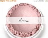 "On Sale - Stardust Highlighting Powder Sample - ""Aura"" (light frosty pink highlight, Net Wt .5g pot) - Vegan"