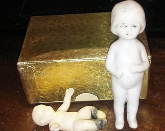 vintage Germany frozen charlotte doll marked S