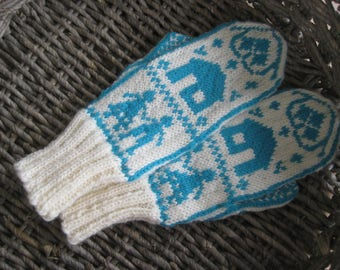 Mittens in Scandinavian Design JACK & JILL
