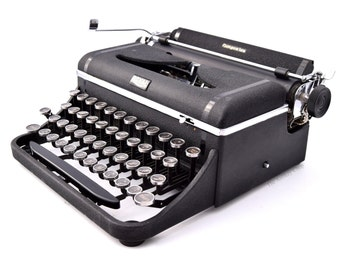 Royal Companion Typewriter Professionally Refurbished Portable w/Two New Ribbons & New Platen