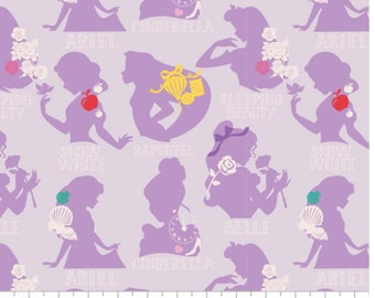 License Disney Fabric - 1 Yard Cut - Camelot Fabric - Quilting Fabric - Cotton Fabric