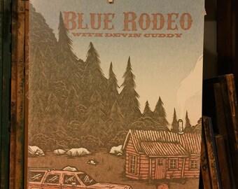 Blue Rodeo Gig Poster - November 18th, 2016