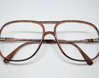 Vintage Silhouette Frames Brownish (no lenses) made in Austria