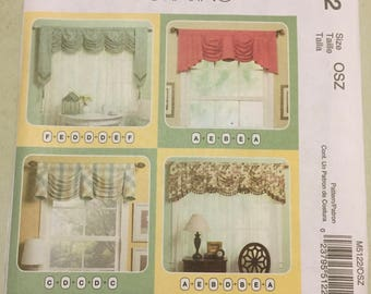 McCall's Home Decorating Pattern Number 5122