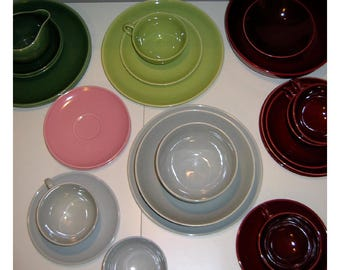 Vintage Universal Ballerina Dinnerware Set, Select One of Four Colors or All 22 Pieces