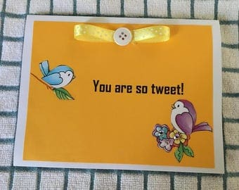 Your So Tweet Thinking Of You Card