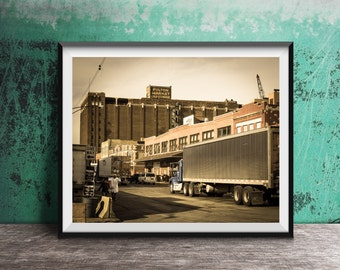 Fulton Market - Chicago photography art print  - 8x10