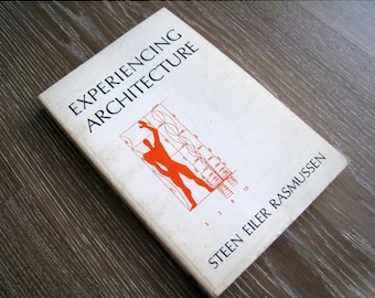 50% SALE 1968 Edition of Experiencing Architecture by Steen Eiler Rasmussen