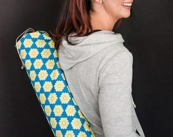 Yoga Mat Bag, Pilates Mat Bag, Yoga Bag, Canvas Mat Bag