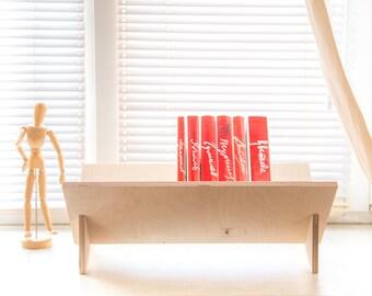 Functional floor magazine holder book shelf // windowsill shelf // textbook perfect // dormitory excellent // FREE SHIPPING
