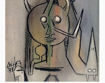Wifredo Lam-Peintures-1987 Poster
