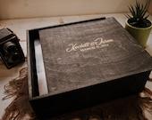 12x12x3.5 Wood Album Box (NO area for USB)