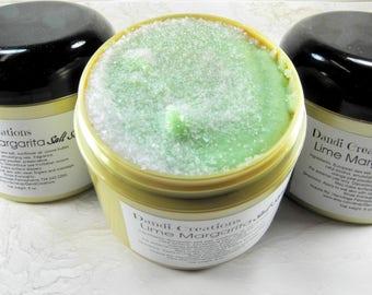 Lime Margarita Salt Scrub Body Polish/salt scrub/body scrub/wholesale/fruit scrub/skin care/body care/gift ideas/gift for women/bath scrub