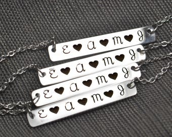 friendship necklace for 4 best friends