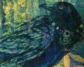 Mystical Raven Print