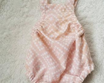 baby romper, romper, little girls clothing, double gauze clothing