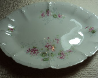 Quaint little antique platter