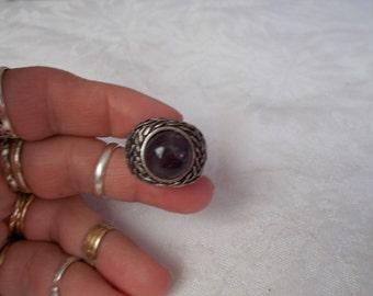 Dashing Mans Gothic Style Ring-R556-Size 8 3/4