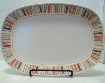 Vintage Noritake Mardi Gras Platter