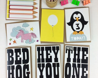 Any 10 cards, your SELECTION of ANY 10 CARDS from halfpinthome, greeting card selection, card multipack, card special offer, uk seller