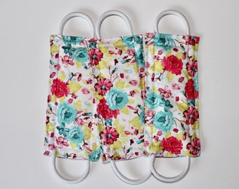 Naptime & Roses (3 PACK) Door Silencer, Door Jammer, Nursery Door Silencer, Door cushion, Door latch cover, baby shower gift, LATCHY CATCHY