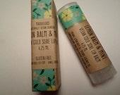 VEGAN-mélisse & menthe de fièvre Vegan Lip Balm-Vegan baume avec des huiles essentielles-pour les hommes et Women(4.25ml)