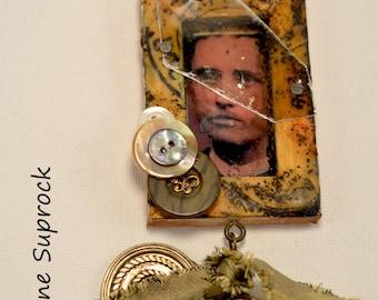 Beneath The Broken Glass Necklace