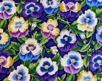 """Pansy Fabric 3 yd and 33""""  long x 44"""" wide"""
