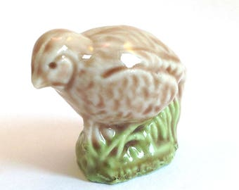 Wade Whimsie: Partridge Figurine - 1980/81 - Wade Figurines - Wade Partridge - Whimsie Partridge - Whimsie Bird - Wade Collectables - Wades