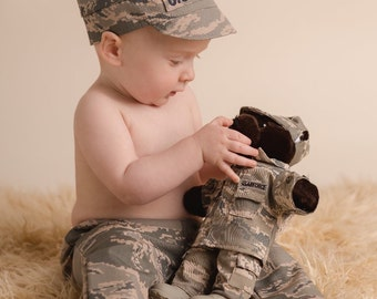 Baby Military SET for sitters Army, Air Force, Navy, MultiCam, Marine, Coast Guard