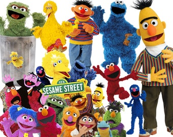 Best collection of 130 SESAME STREET clipart - 130 high quality Sesame Street CLIPART - 130 Sesame Street Graphics !!!