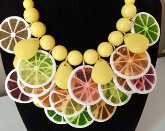 Fruity Citrus Necklace