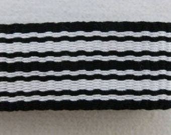 "Sibbe XL -  Hand Woven Inkle Trim (1-1/8"" wide)"