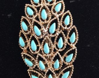 Vintage Gerrys Leaf Pin