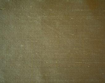 "Gray Hand Woven Raw Silk Dupion Multipurpose Drapery Fabric 55"" Wide 15 Yards Wholesale"