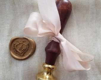 Custom Wax Seal Stamp & File
