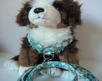 No Pull Harness & Leash Package - Dog Harness Set - Available in all Dog Collar Listings - Fabric name