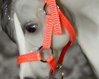 Pony/Classic Nylon Halter - Round Ring - Breyer or Model Horse - 36 Color Choices!