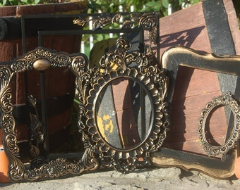 Shabby Chic Frame Collection - Ornate - Gallery Wall - Vintage Collection - PICTURE FRAMES - Rustic Frame Set