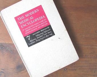 Modern Medical Encyclopedia Vintage Medical Reference Book