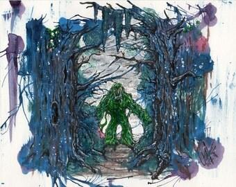 """The Swamp  8""""x10"""""""