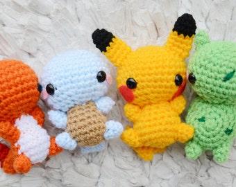 Pokemon Starters PACK (FLUFFY)