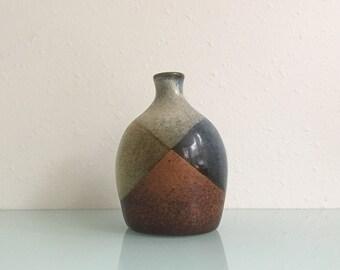 1970s Boho Pottery Craft Ceramic Vase